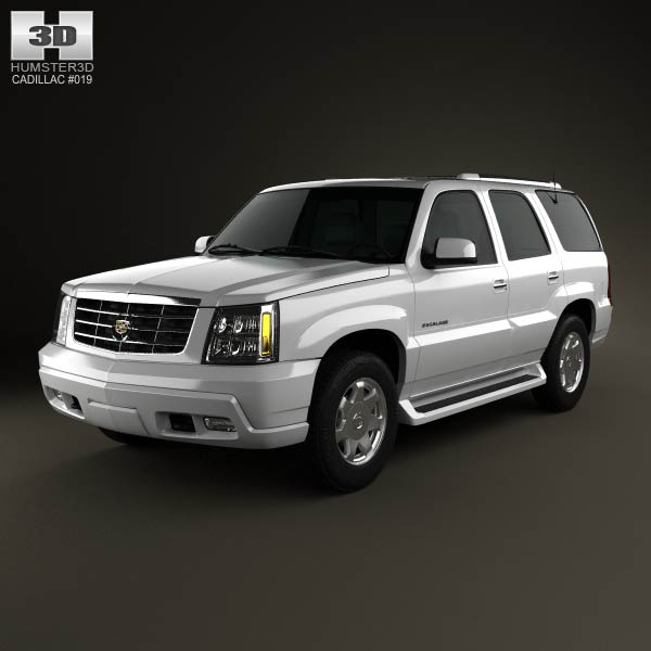 Cadillac Escalade 2002 3d car model
