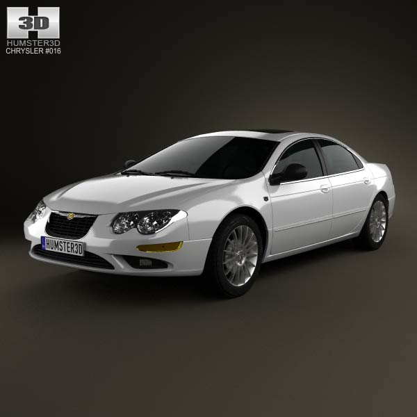 Chrysler 300M 2004 3d car model