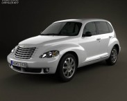 3D model of Chrysler PT Cruiser 2010
