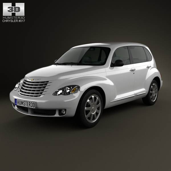 Chrysler PT Cruiser 2010 3d car model