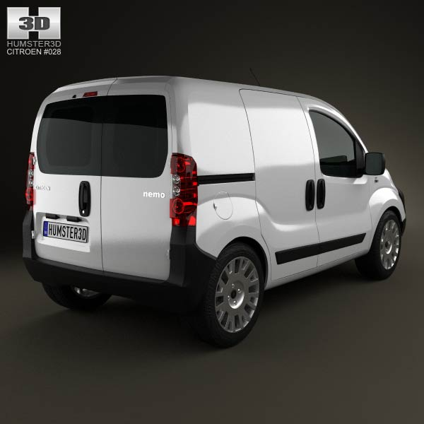 Citroen Nemo Panel Van 2011 3d model