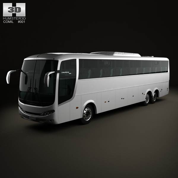 Comil Campione 3.65 Bus 2012 3d car model