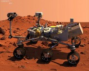 3D model of Curiosity Mars Rover