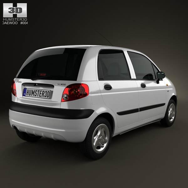 Daewoo Matiz M150 2011 3d model