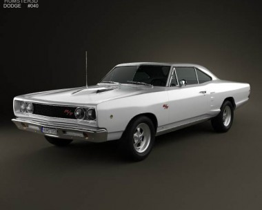 3D model of Dodge Coronet R/T Coupe 1968