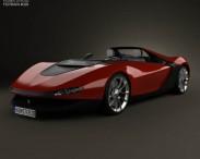 3D model of Ferrari Pininfarina Sergio 2013