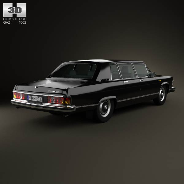 GAZ 14 Chaika 1976 3d model