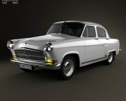 3D model of GAZ 21 Volga 1962