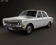 3D model of GAZ 24 Volga 1967