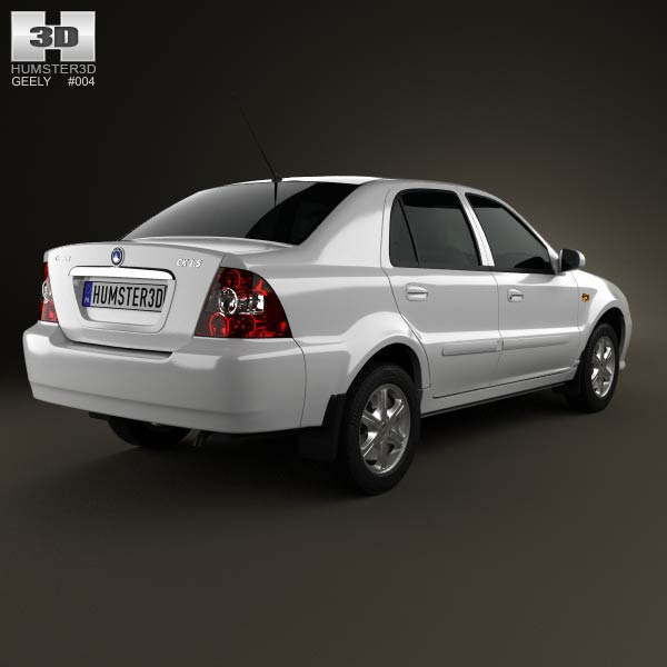 Geely CK (Otaka) 2011 3d model