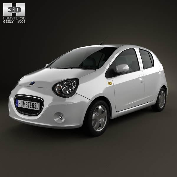Geely LC (Panda) 2012 3d model
