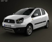 3D model of Geely LC Cross (Panda) 2012