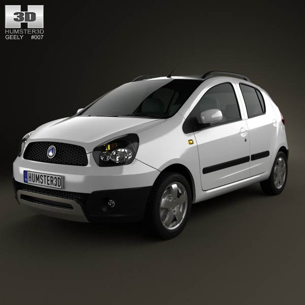 Geely LC Cross (Panda) 2012 3d car model