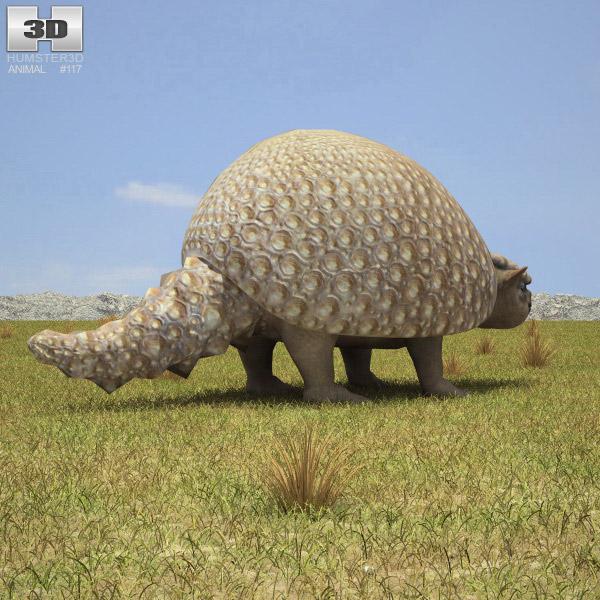 Glyptodon 3d model