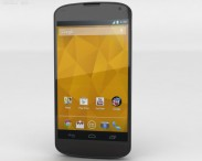 3D model of Google Nexus 4 Black