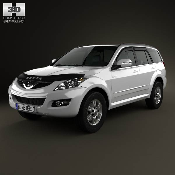 Great Wall Hover (Haval) H5 2010 3d car model