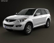 3D model of Great Wall Hover (Haval) H5 2012