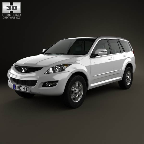 Great Wall Hover (Haval) H5 2012 3d car model