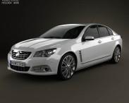 3D model of Holden VF Commodore Calais V sedan 2013