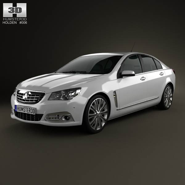 Holden VF Commodore Calais V sedan 2013 3d car model