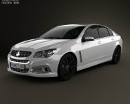 3D model of Holden VF Commodore Calais V SSV 2013