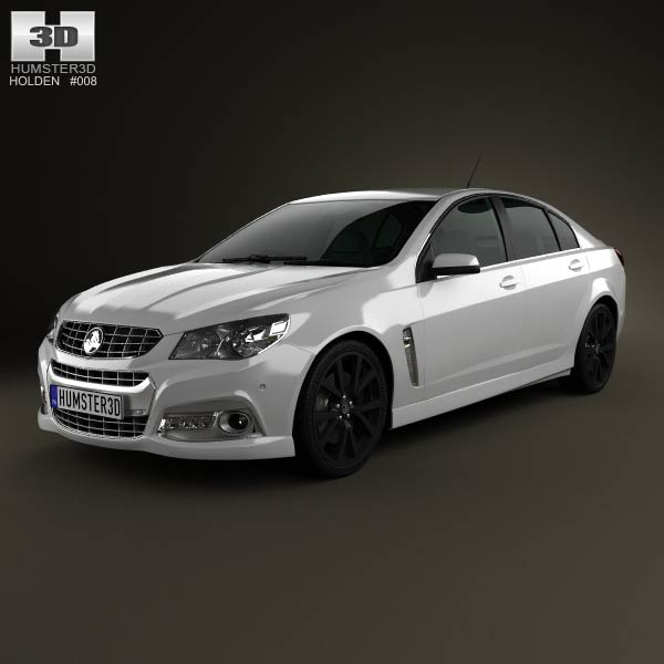 Holden VF Commodore Calais V SSV 2013 3d car model