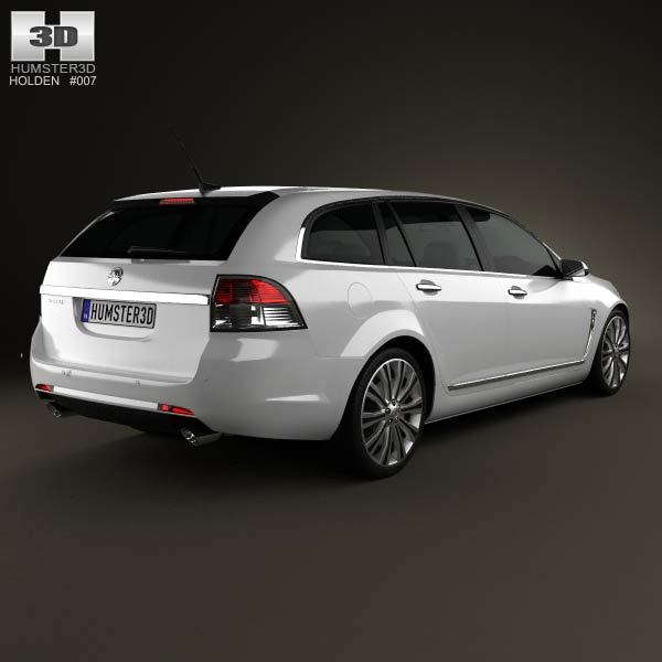 Holden VF Commodore Calais V sportwagon 2013 3d model