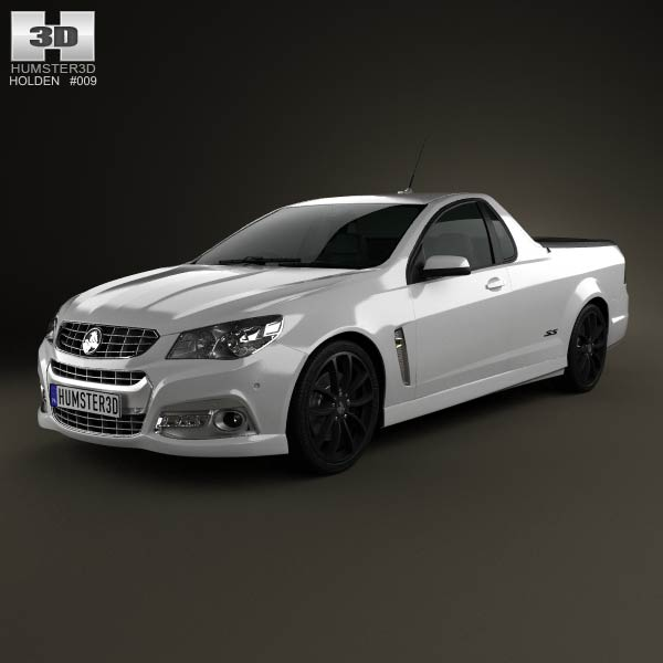 Holden VF Commodore Calais V UTE 2013 3d car model
