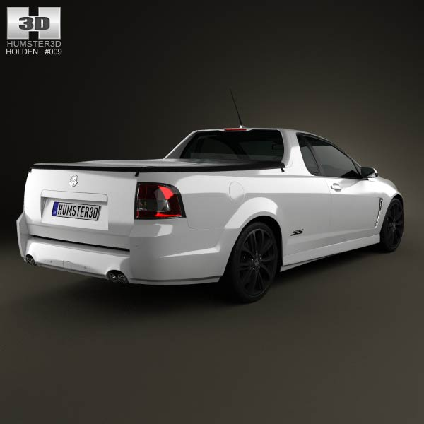 Holden VF Commodore Calais V UTE 2013 3d model