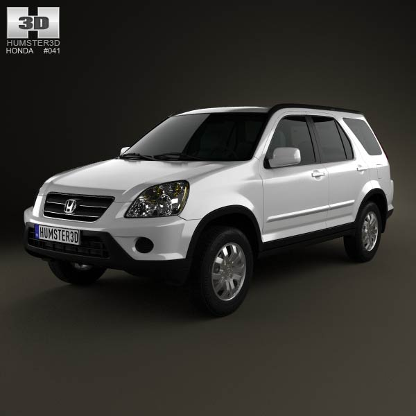 Honda CR-V 2002 3d car model
