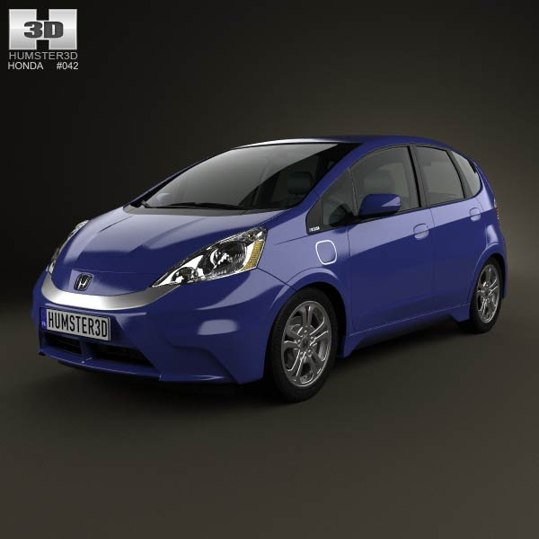 Honda Fit (Jazz) EV 2013 3d car model