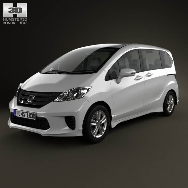 Honda Freed Spike 2012 3d car model