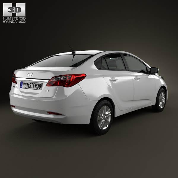 Hyundai HB20S 2013 3d model