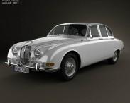 3D model of Jaguar S-Type 1963