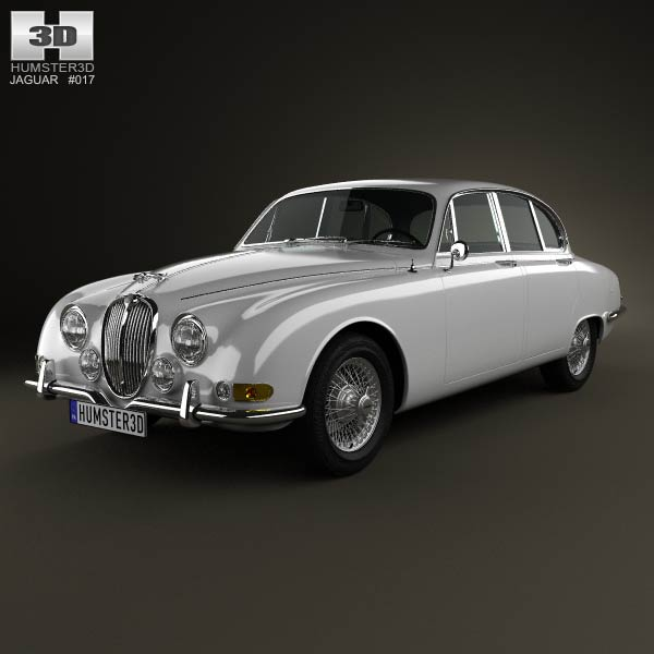 Jaguar S-Type 1963 3d car model