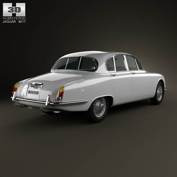 Jaguar S-Type 1963 3d model