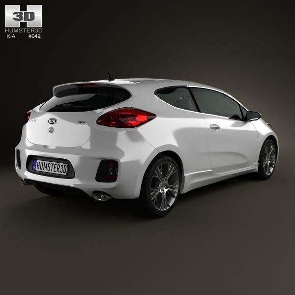 Kia Pro Ceed GT 2014 3d model