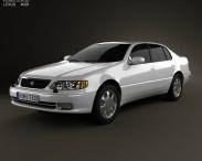 3D model of Lexus GS (S140) 1996