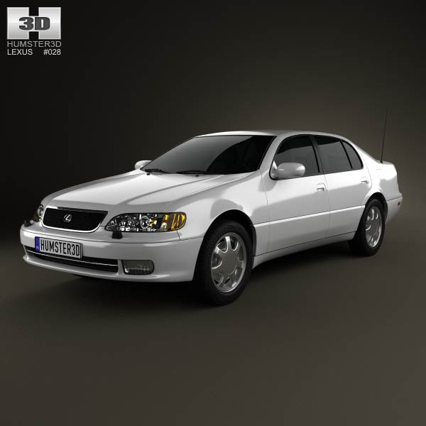 Lexus GS (S140) 1996 3d car model