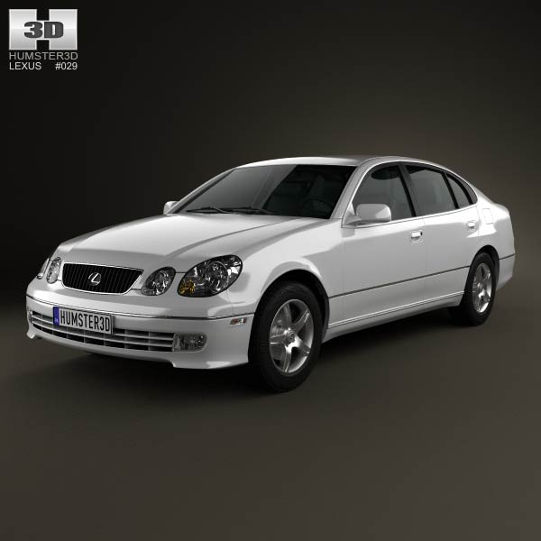 Lexus GS (S160) 2004 3d car model