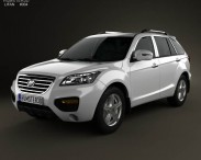 3D model of Lifan X60 SUV 2012