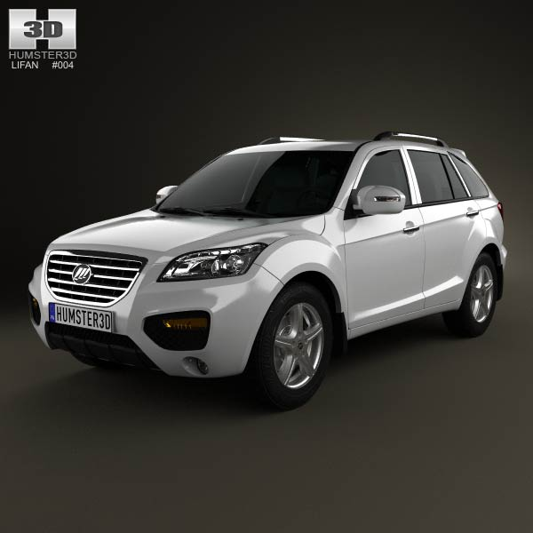 Lifan X60 SUV 2012 3d car model