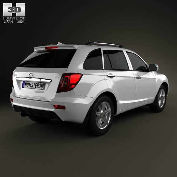 Lifan X60 SUV 2012 3d model