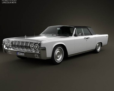 lincoln continental sedan 1962 3d model humster3d. Black Bedroom Furniture Sets. Home Design Ideas