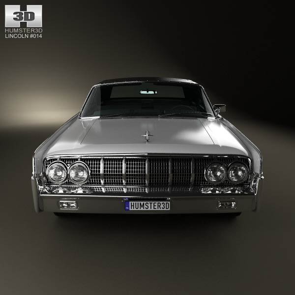 1964 lincoln continental model car lincoln continental convertible 1964 3d model humster3d. Black Bedroom Furniture Sets. Home Design Ideas