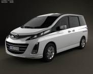 3D model of Mazda Biante 2012
