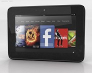 3D model of Amazon Kindle Fire HD 7 inches