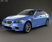 3D model of BMW M5 sedan (F10) 2012