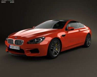3D model of BMW M6 Coupe (F13) 2013