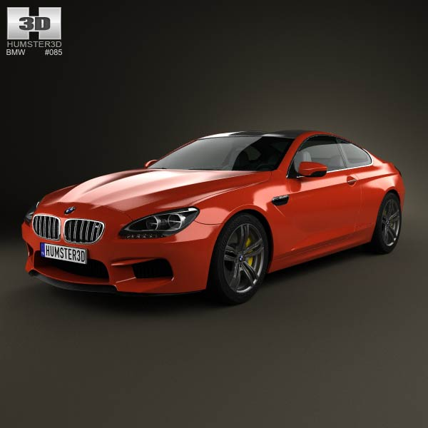 BMW M6 Coupe (F13) 2013 3d car model